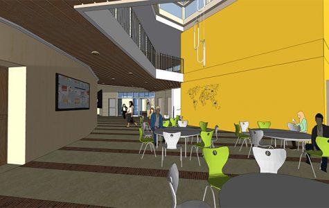 Atrium Project Set to Finish November