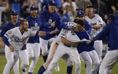 Dodger defeat Brewers to face Red Sox in World Series