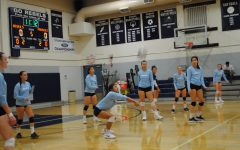 Rebels Volleyball Beats Providence in Four-Set Win