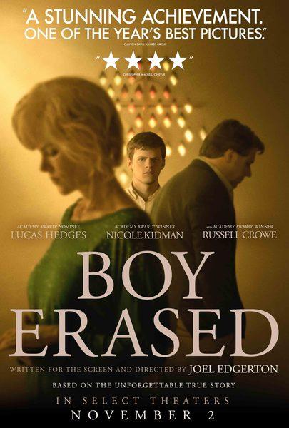 poster large - Boy Erased - Vite Cancellate: affrontiamo una paurosa e personale realtà