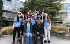 2018-2019 Science Olympiad team smiles for the camera.