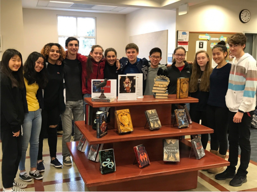 Members+of+Library+Advisory+Council+Next+To+Bardugo+Display