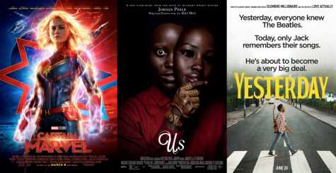These three movies are set to come out this spring.