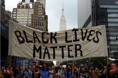 New Yorkers protest against racial injustice (Photo Courtesy Weforum).