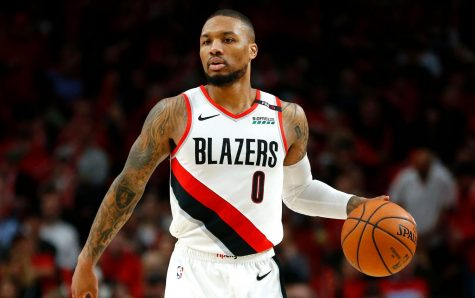 Damian Lillard, star Point Guard for the Portland Trail Blazers, signed his supermax last offseason (Photo courtesy of the New York Post)