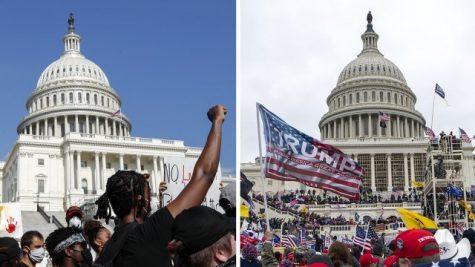Let's Compare: BLM Protestors vs Capitol Rioters
