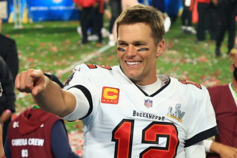 Tom Brady (pictured above) fresh off of his seventh Super Bowl Victory