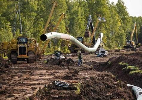 Construction of the Line 3 Oil Pipeline